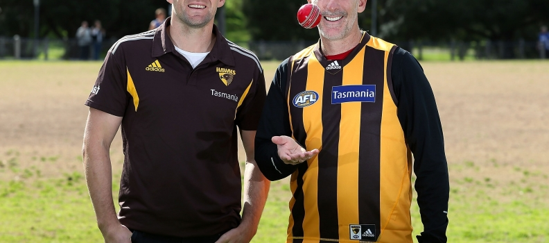 HAWKS NAME BIG GUNS FOR RICKY'S BIGGEST GAME OF CRICKET